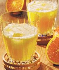 Té Frío Naranja y Tónica