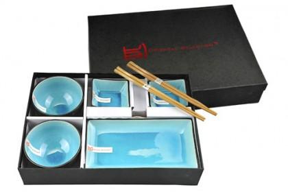 Juego de Sushi Azul