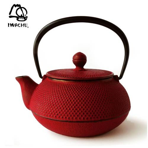 Tetera IWACHU Arare Rojo