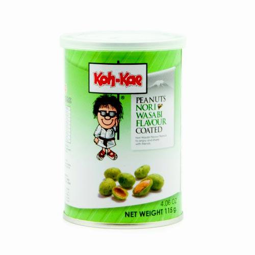 Cacahuetes de Wasabi y Alga Nori