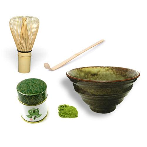 Juego de té Matcha Suki