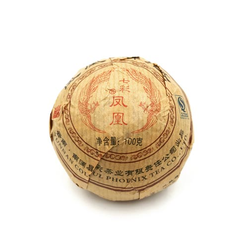 Té Rojo Pu Erh Yunnan Prensado