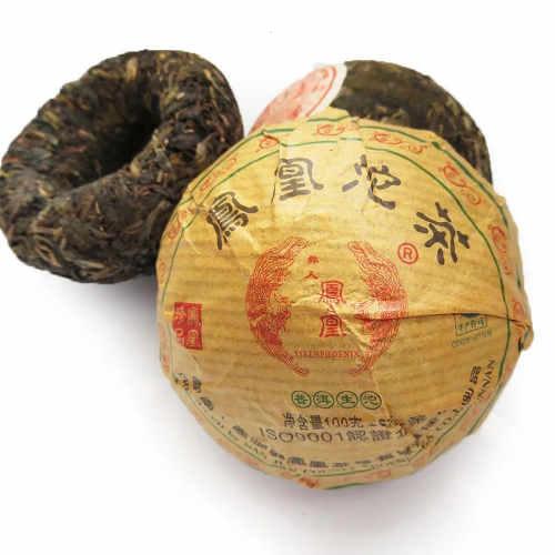 Té Rojo Pu Erh Prensado Yunnan