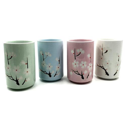 Cuencos de Té Sakura
