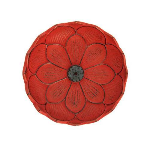 Incensario Iwachu Flor de Loto Rojo Centro