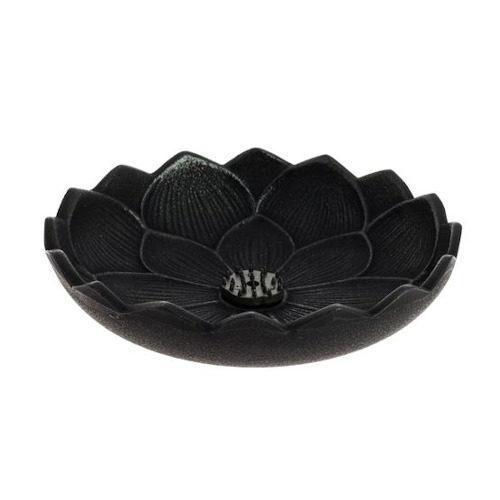 Incensario Iwachu Flor de Loto Negro