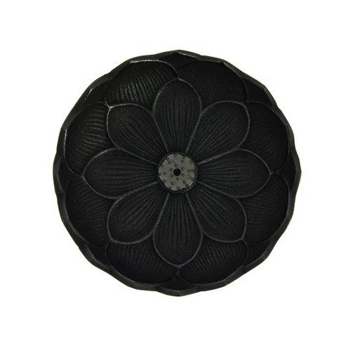 Incensario Iwachu Flor de Loto Negro Centro