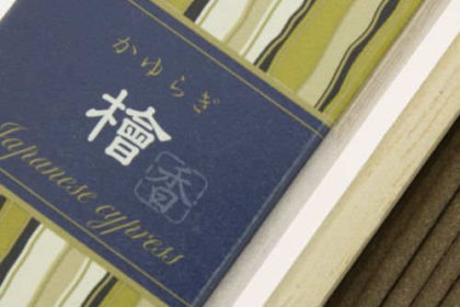 Incienso Japonés Kayuragi Ciprés Japonés Detalle