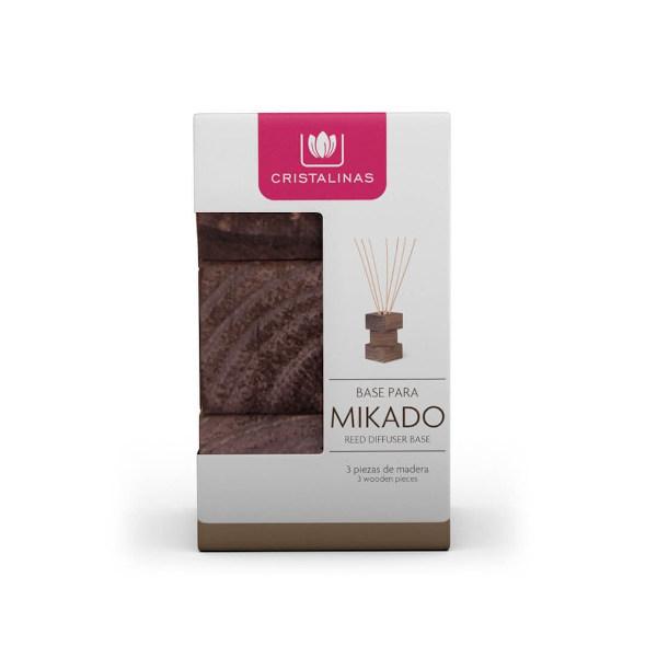 Recambio Natural Wood Mikados Cristalinas