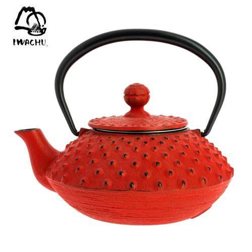 Tetera Iwachu Arare Rojo 320ml