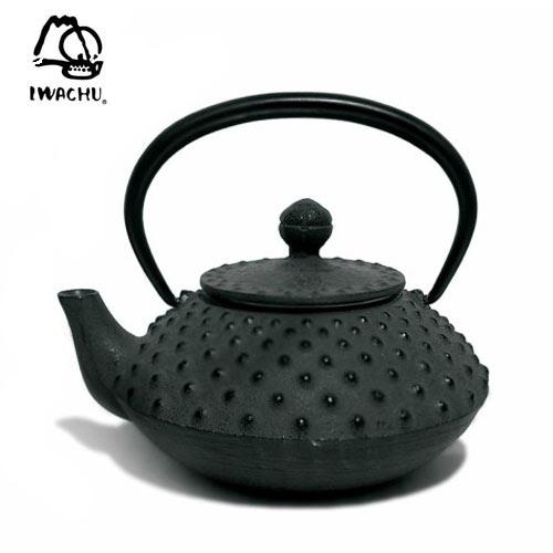 Tetera Iwachu Arare Negro 330ml