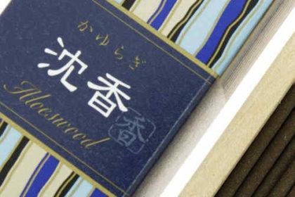 Incienso Japonés Kayuragi Aloe Detalle