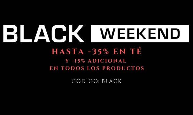 BLACK WEEKEND Tienda de Té