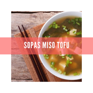 Sopas Miso Tofu