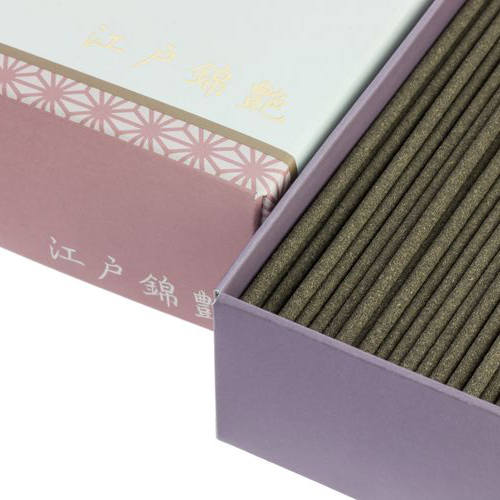 Incienso Japonés Edonishiki Tsuya Detalle
