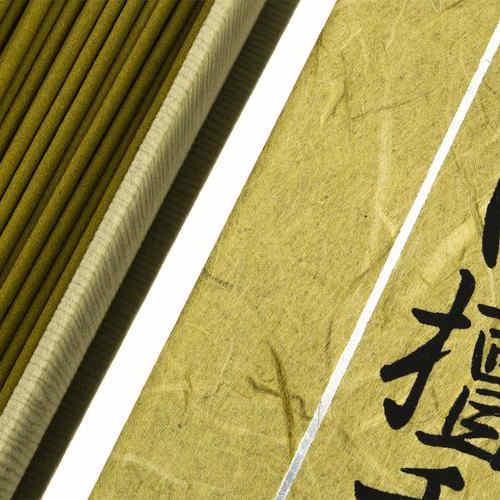 Incienso Japonés Mainichi Byakudan Detalle