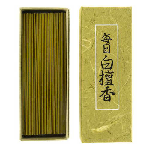 Incienso Japonés Mainichi Byakudan Portada
