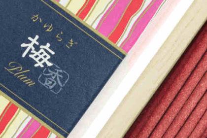 Incienso Japonés Kayuragi Ciruelo Detalle