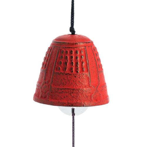 Campana Feng Shui Iwachu Rojo