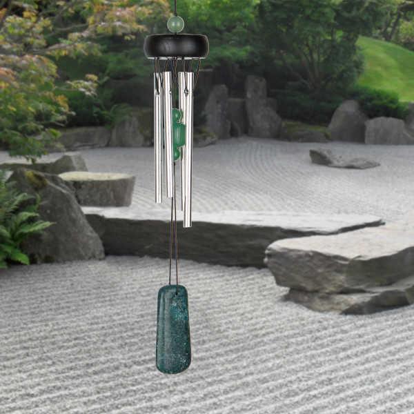 Campana de Viento Jade Precious Stones Visión